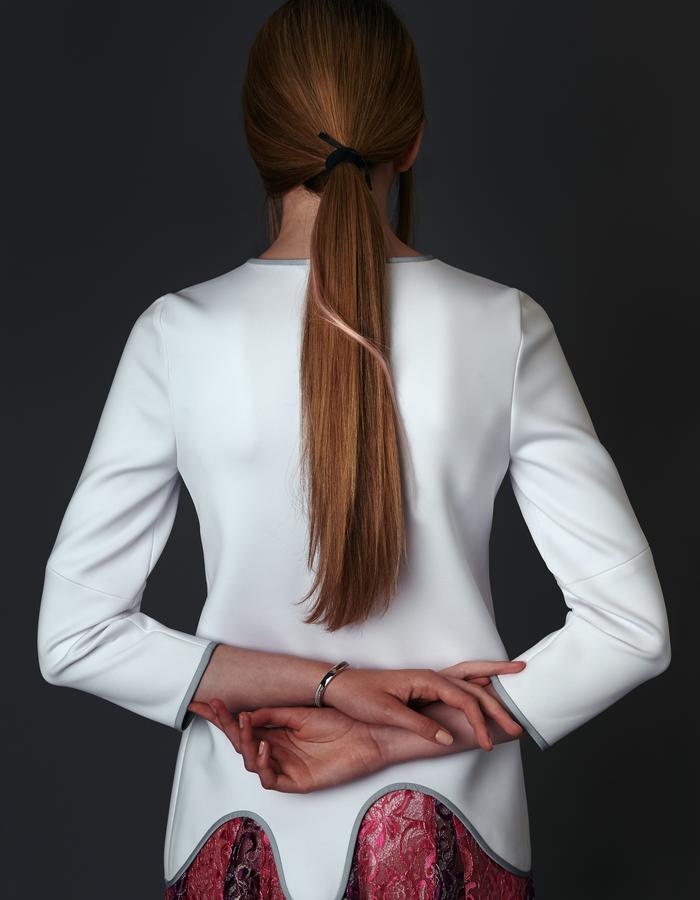 Zapota Hair - The Hampstead Hairband Black/Blossom Pink