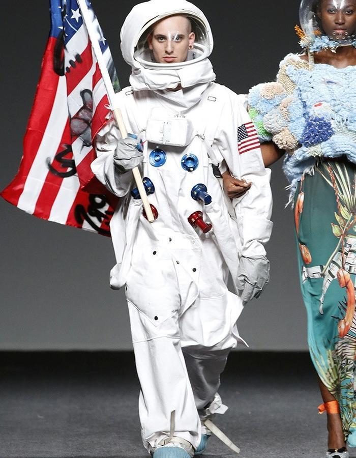 Amai Rodriguez in Madrid Fashion Week