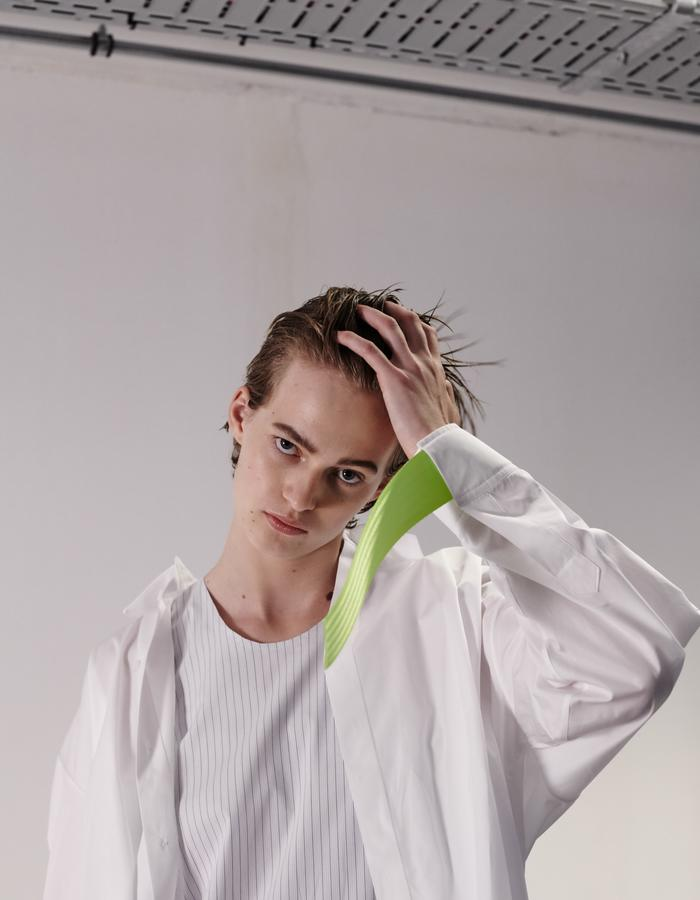 Moe - SS18 - Photographer: Maxime Cardol - Hair/makeup: Ingird van Hemert, House of Orange - Model: Elise, The Movement Models