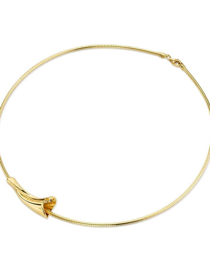 Halcyon necklace, 18K