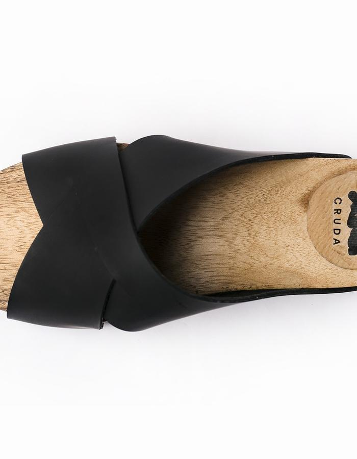 Women`s Black Cruda Sandal