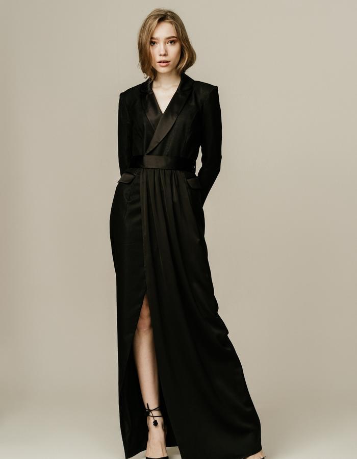 Tailored Blazer Gown