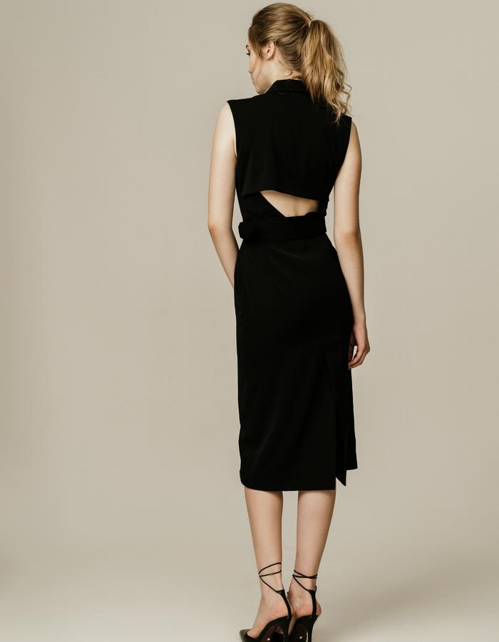 Two Toned Vest Dress