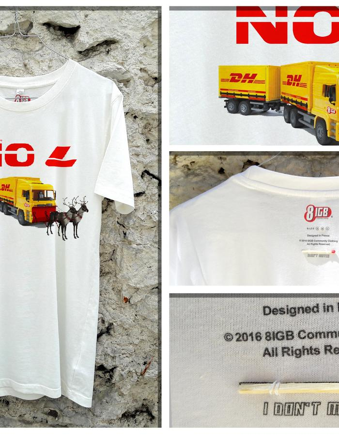Cotton short-sleeves printed t-shirt