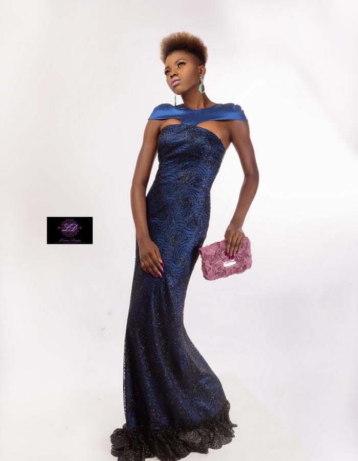 Sophia Lace & Satin Dress