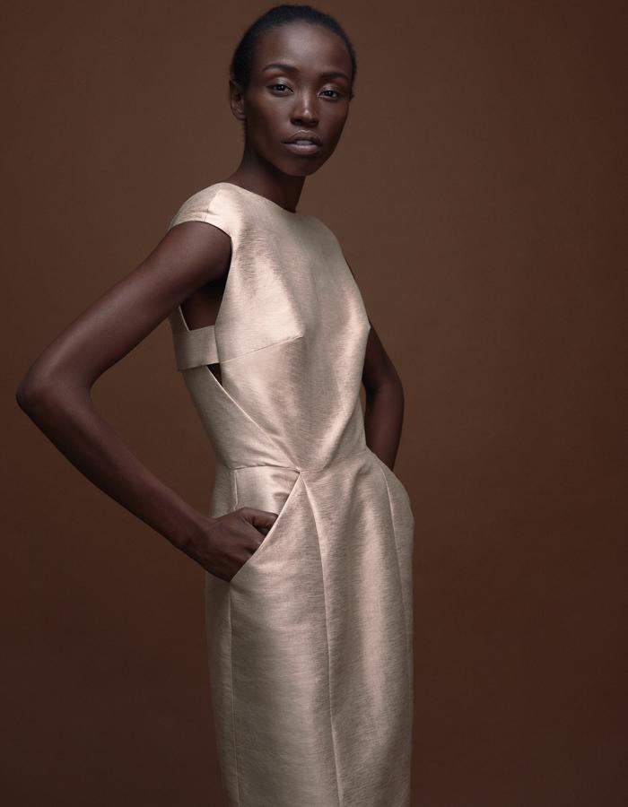 Silkdress FAYE by Magdalena Mayrock