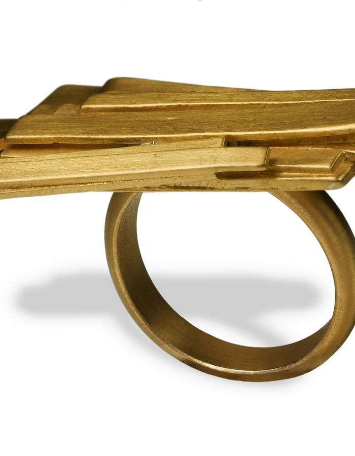 jealous much gold ring