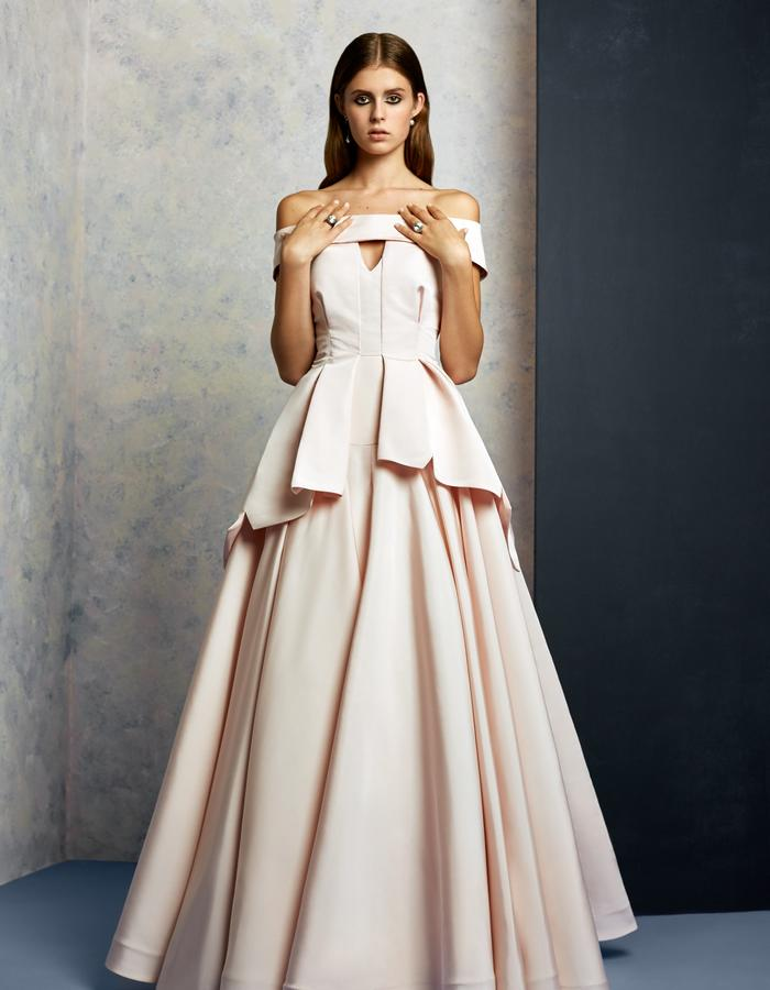 English Pink Gown