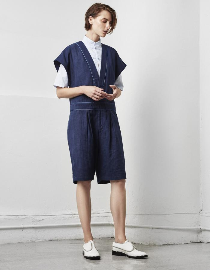 2WN SPRING SUMMER 2018 TOMBOY ROMPER KIMONO GENTLEWOMAN MADE IN USA (#2WN #2WNWEAR #2WNSTYLE)