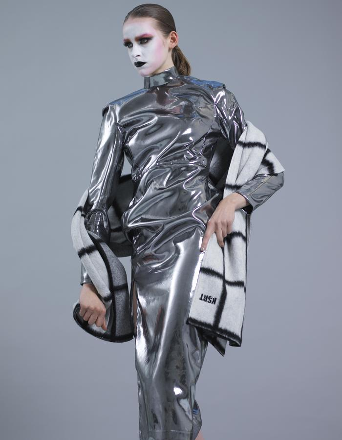 KSRT STUDIO SORAYAMA CHROME DRESS