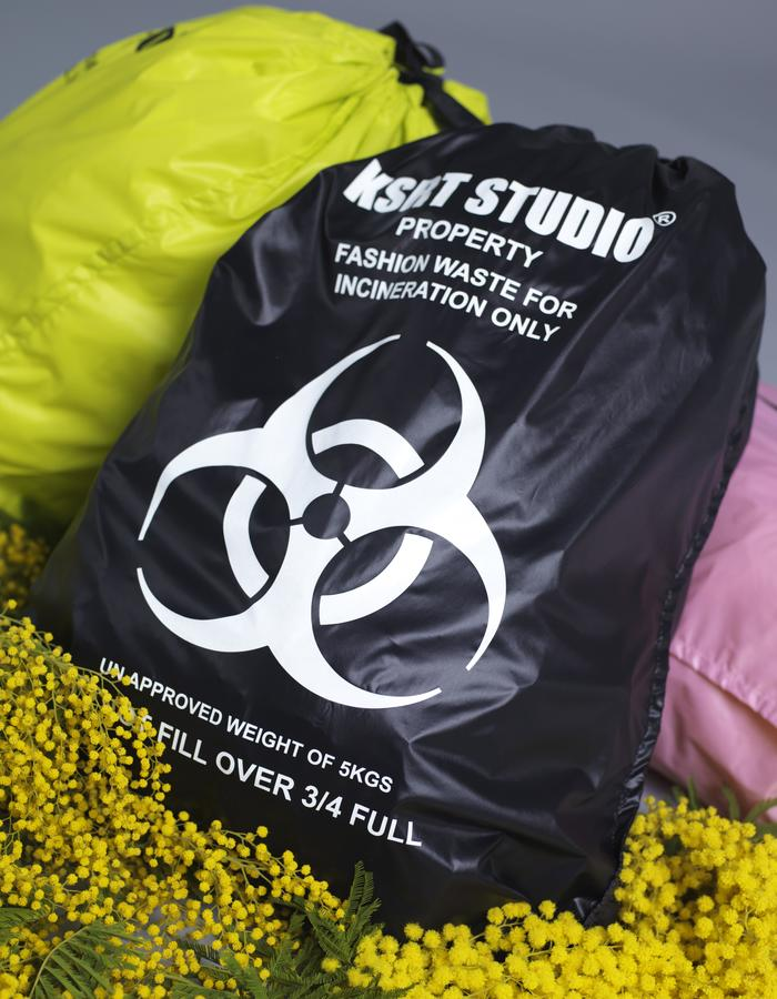 KSRT STUDIO FASHION WASTE BAGS